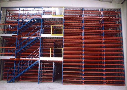 Multi Three-Tier Racking System Features